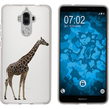 Huawei Mate 9 Silicone Case vector animals M8