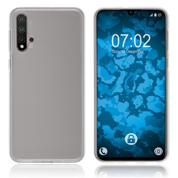 Silicone Case Nova 5 transparent Crystal Clear Cover