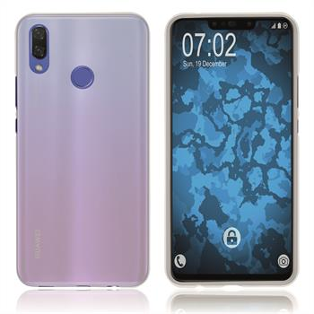 Silikon Hülle P Smart+ matt transparent-weiß Case