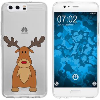 Huawei P10 Silikon-Hülle X Mas Weihnachten  M3