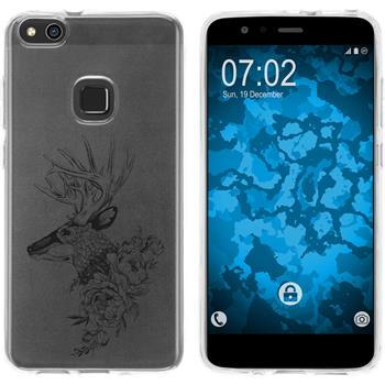 Huawei P10 Lite Silicone Case floral M7-1