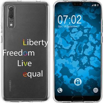Huawei P20 Silicone Case pride M2