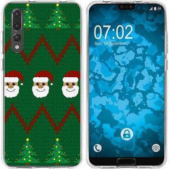Huawei P20 Pro Silicone Case Christmas X Mas M7