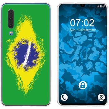 Huawei P30 Silicone Case WM Brazil M3
