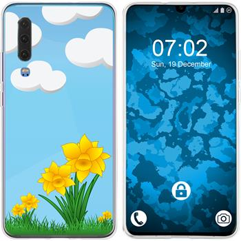Huawei P30 Silicone Case Easter M4