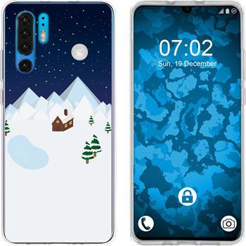 Huawei P30 Pro Silicone Case Christmas X Mas M6