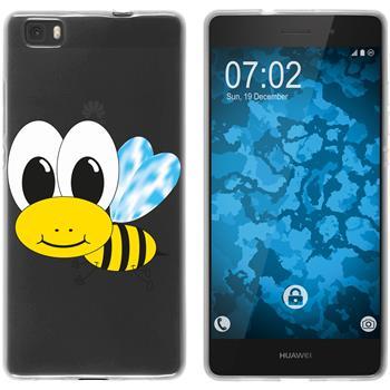 Huawei P8 Lite 2015 (1.Gen.) Silicone Case Cutiemals M1