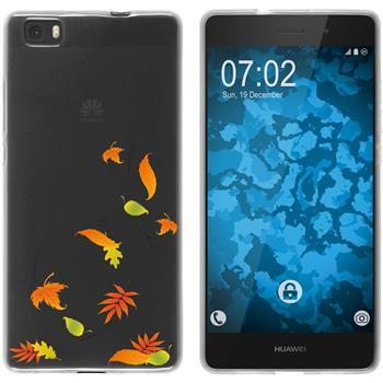 Huawei P8 Lite 2015 (1.Gen.) Silicone Case autumn M1