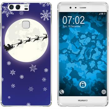 Huawei P9 Plus Silikon-Hülle X Mas Weihnachten  M4
