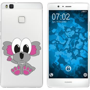 Huawei P9 Lite Silicone Case Cutiemals M6