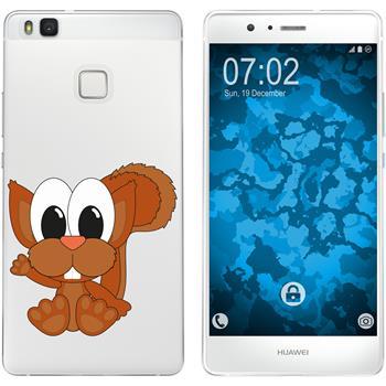 Huawei P9 Lite Silicone Case Cutiemals M8