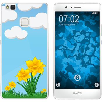 Huawei P9 Lite Silicone Case Easter M4