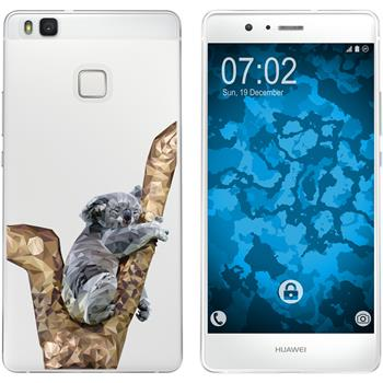 Huawei P9 Lite Silicone Case vector animals M9