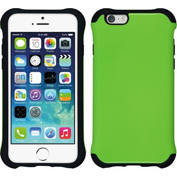 Hybrid Case for Apple iPhone 6 ShockProof Candy green