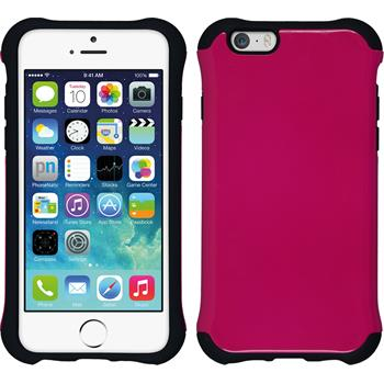Hybrid Case for Apple iPhone 6 ShockProof Candy hot pink