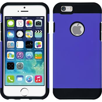 Hybrid Case for Apple iPhone 6 ShockProof purple