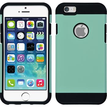 Hybrid Case for Apple iPhone 6 ShockProof turquoise