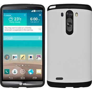 Hybrid Case for LG G3 ShockProof white