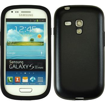 Hybrid Case for Samsung Galaxy S3 Mini  black