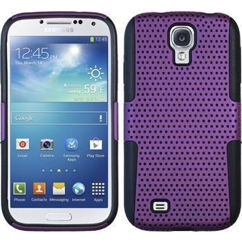 Hybridhülle für Samsung Galaxy S4  lila