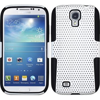 Hybridhülle für Samsung Galaxy S4  weiß