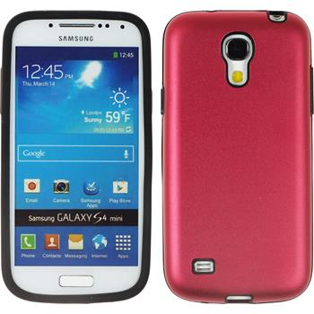 Hybrid Case for Samsung Galaxy S4 Mini  red