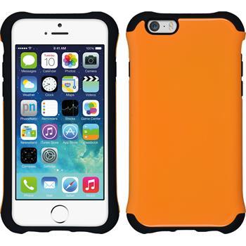 Hybrid Hülle iPhone 6s / 6 ShockProof Candy orange