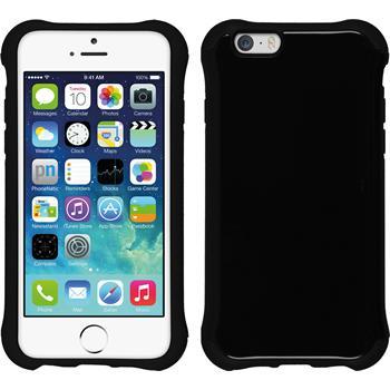 Hybrid Hülle iPhone 6s / 6 ShockProof Candy schwarz