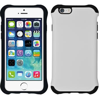 Hybrid Hülle iPhone 6s / 6 ShockProof Candy weiß