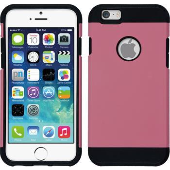 Hybrid Hülle iPhone 6s / 6 ShockProof rosa