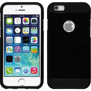 Hybrid Hülle iPhone 6s / 6 ShockProof schwarz