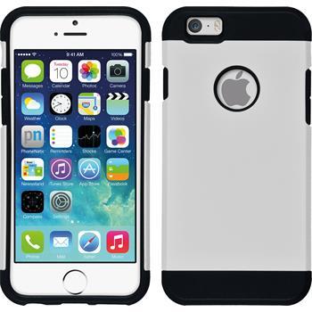 Hybridhülle für Apple iPhone 6s / 6 ShockProof weiß