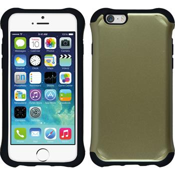 Hybrid Hülle iPhone 6s / 6 ShockProof Candy gold