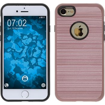 Hybrid Hülle iPhone 7 brushed Case Roségold