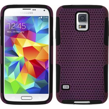 Hybrid Hülle Galaxy S5  lila