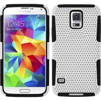 Hybrid Hülle Galaxy S5  weiß