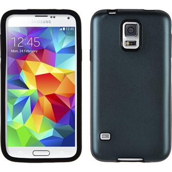 Hybrid Case for Samsung Galaxy S5 metallic gray
