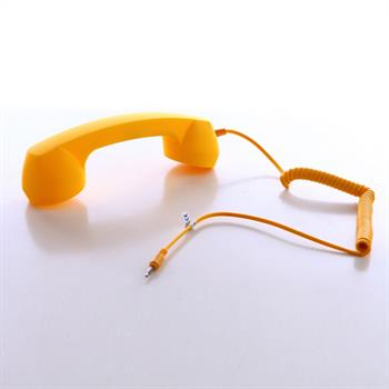 LEICKE Sharon Retro Telefonhörer Farbe Gelb