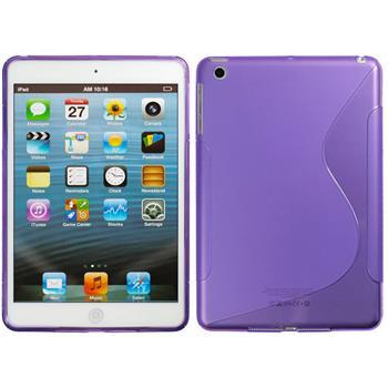 Silicone Case for Apple iPad Mini 3 2 1 S-Style purple