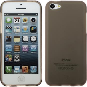 Silicone Case for Apple iPhone 5c matt gray