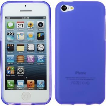 Silicone Case for Apple iPhone 5c matt purple