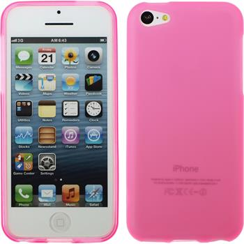 Silicone Case for Apple iPhone 5c matt pink