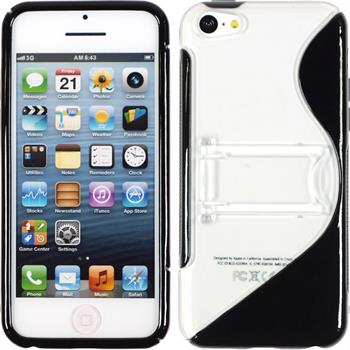 Silicone Case for Apple iPhone 5c S-Style black