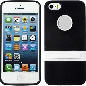 Silicone Case for Apple iPhone 5 / 5s  black