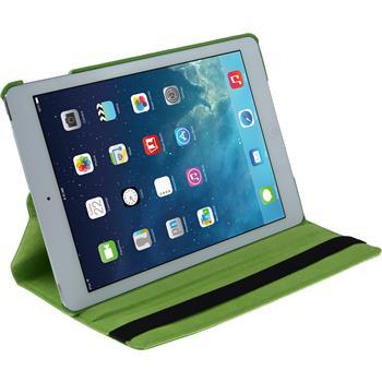 Kunst-Lederhülle iPad Air 360° grün