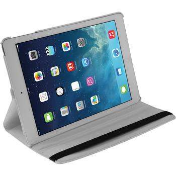 Artificial Leather Case for Apple iPad Air 360° white