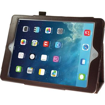 Artificial Leather Case for Apple iPad Air Wallet brown