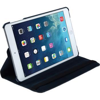 Kunst-Lederhülle iPad Mini 3 2 1 360° blau