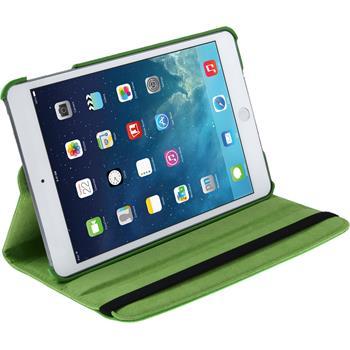 Kunst-Lederhülle iPad Mini 3 2 1 360° grün