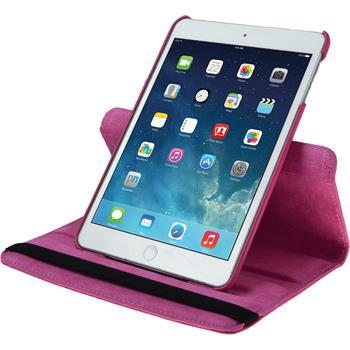 Kunst-Lederhülle iPad Mini 3 2 1 360° pink